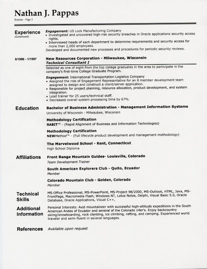 resume aesthetics font margins and paper guidelines